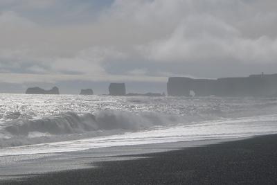 Atlantische Brandung in Island