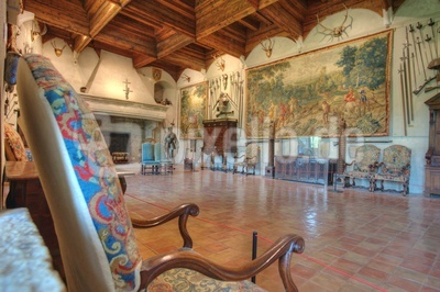 Chateau de Montrottier - Innenausstattung