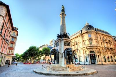 Chambery - Elefantenbrunnen