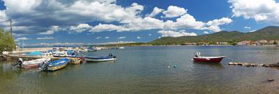 Bucht mit kleinem Fischerhafen, Lesbos