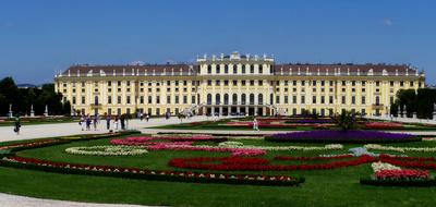 Panorama Schloss Schönbrunn