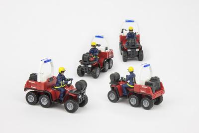 Feuerwehr-Quad H0