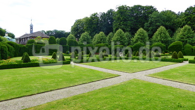 Schloß Clemenswerth - Kapuzinerkloster und Klosterpark