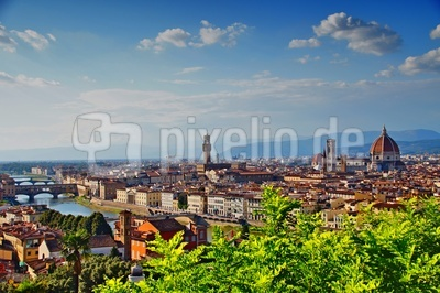 Blick auf Florenz