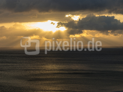 Abendhimmel Ostsee