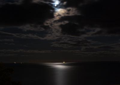 Nachthimmel Ostsee