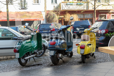 Vespas in Berlin
