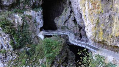 Die Höhlen von ¦kocjan (2)