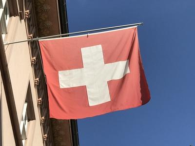 Nationalflagge Schweiz / Foto: Alexander Hauk