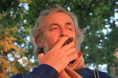 Sunset Cigar Smoker