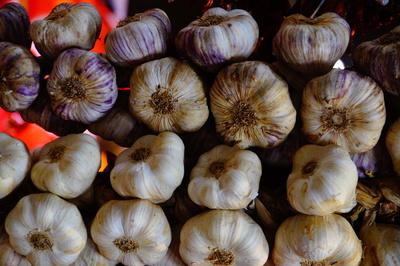 Knoblauch vom Markt