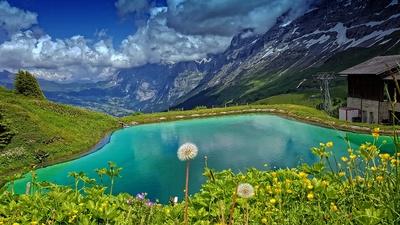 Wunderschöne Schweizer Landschaft