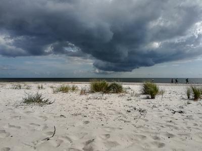 Wolkenphänomen auf Bornholm