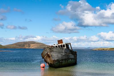 Schiffbruch auf den Falklandinseln