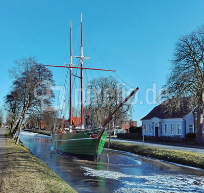 Segelschiff Catharina von Papenburg