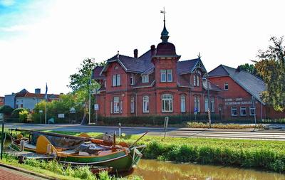 Tjalk ' Twee Gebroeders ' mit Fehn - und Schifffahrtsmuseum