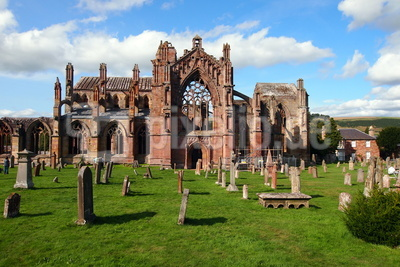 Melrose Abbey / Schottland