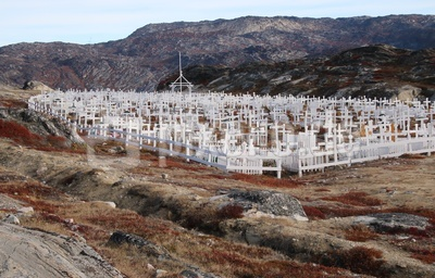 Friedhof Ilulissat/ Grönland