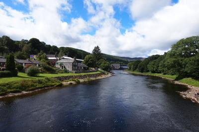 Landschaft bei Pitlochry / Schottland