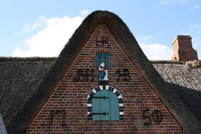 Friesisches Walfängerhaus Giebel