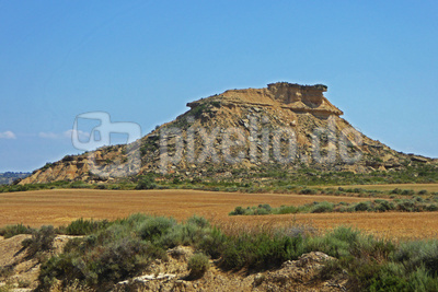 Halbwüste in Navarra