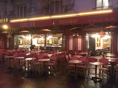 L'Atelier, Paris, 6 Uhr morgens