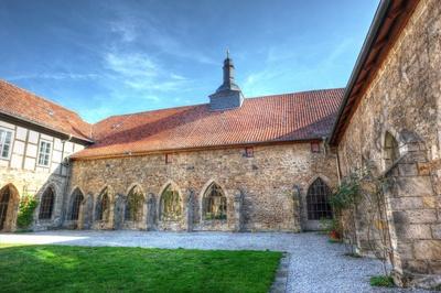 Kloster Michaelstein - Innenhof und Kreuzgang