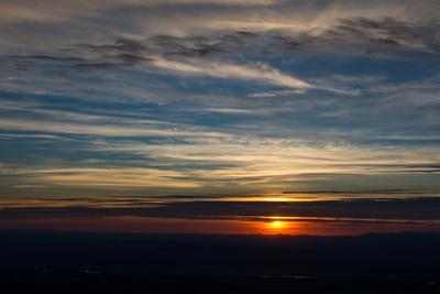 Sonnenuntergang /Schwarzwald
