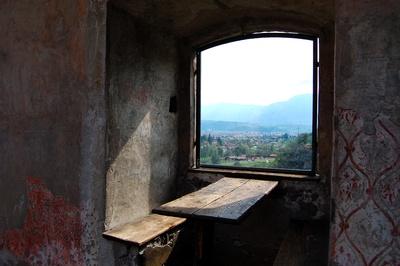 Blick durchs Burgfenster #1