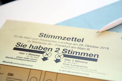 2 Stimmen auf dem Stimmzettel zur Landtagswahl