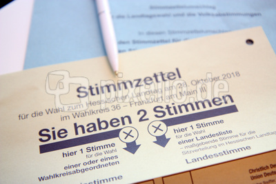 Landtagswahl 2018 in Hessen