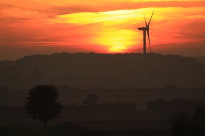 Sonnenaufgang in der Region Angeln-2-