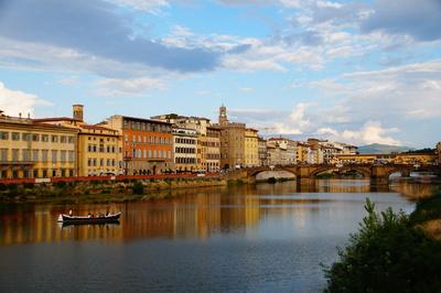 Abends in Florenz