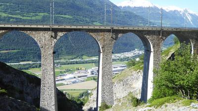 Viadukt der BLS