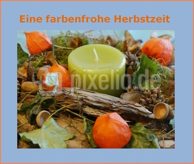 Farbenfroher Herbst