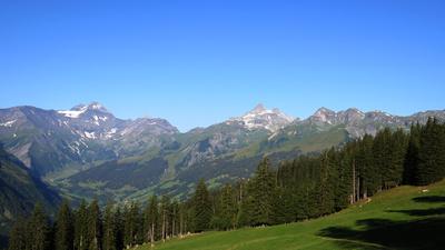Alpine Weitwanderung