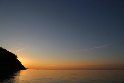 Sonnenuntergang bei Eckernförte