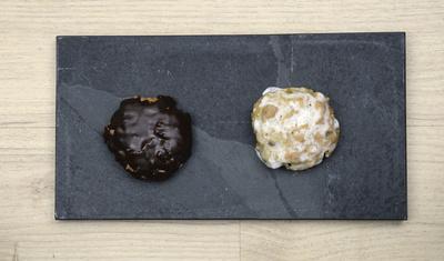 Zitronenschnitten Weihnachtsgebäck.Kostenloses Foto Weihnachtskekse Elisenlebkuchen Lebkuchen