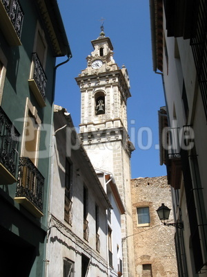 Alte Häuser in Spanien