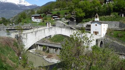 Alte Brücke bei Ackersand