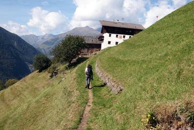 "Wandern in Südtirol ""Am Linthof"""