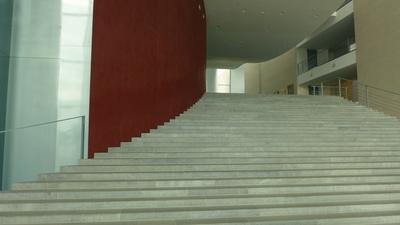 Treppe im Bundeskanzleramt
