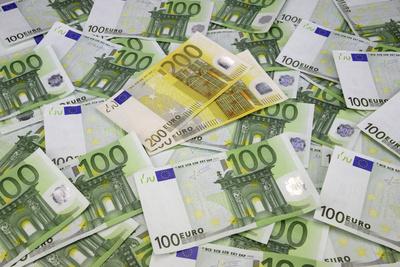100-Euro-Scheine, 200-Euro-Scheine, Geldscheine