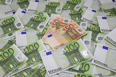 100-Euro-Scheine, 50-Euro-Scheine, Geldscheine