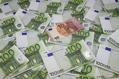 100-Euro-Scheine, 10-Euro-Schein, Geldscheine