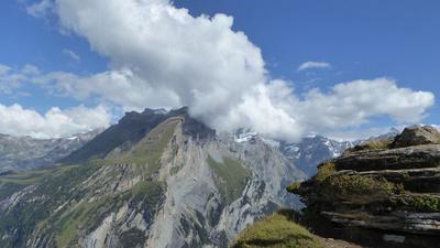 Wolkenspiel über dem Steghorn