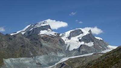 Liskamm und Klein-Matterhorn