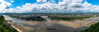 Koblenz im Panorama