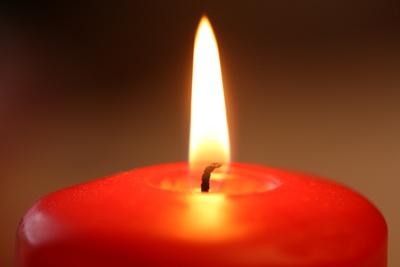Schöner Kerzenschein