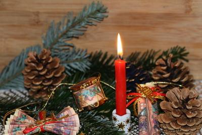 Weihnachtliches Kerzenlicht 2